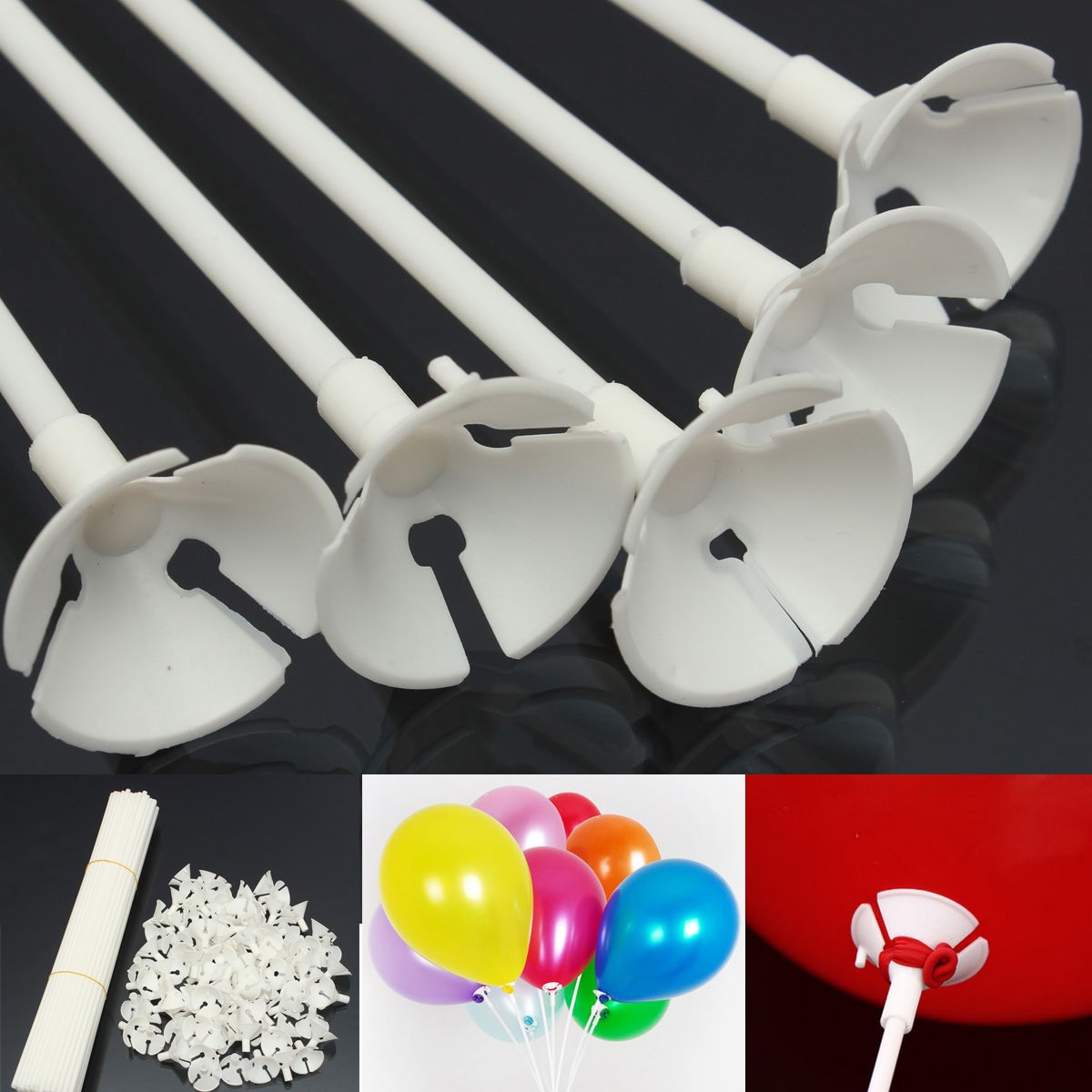 Balloon Cups and Sticks