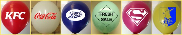 latex balloon printing promotional