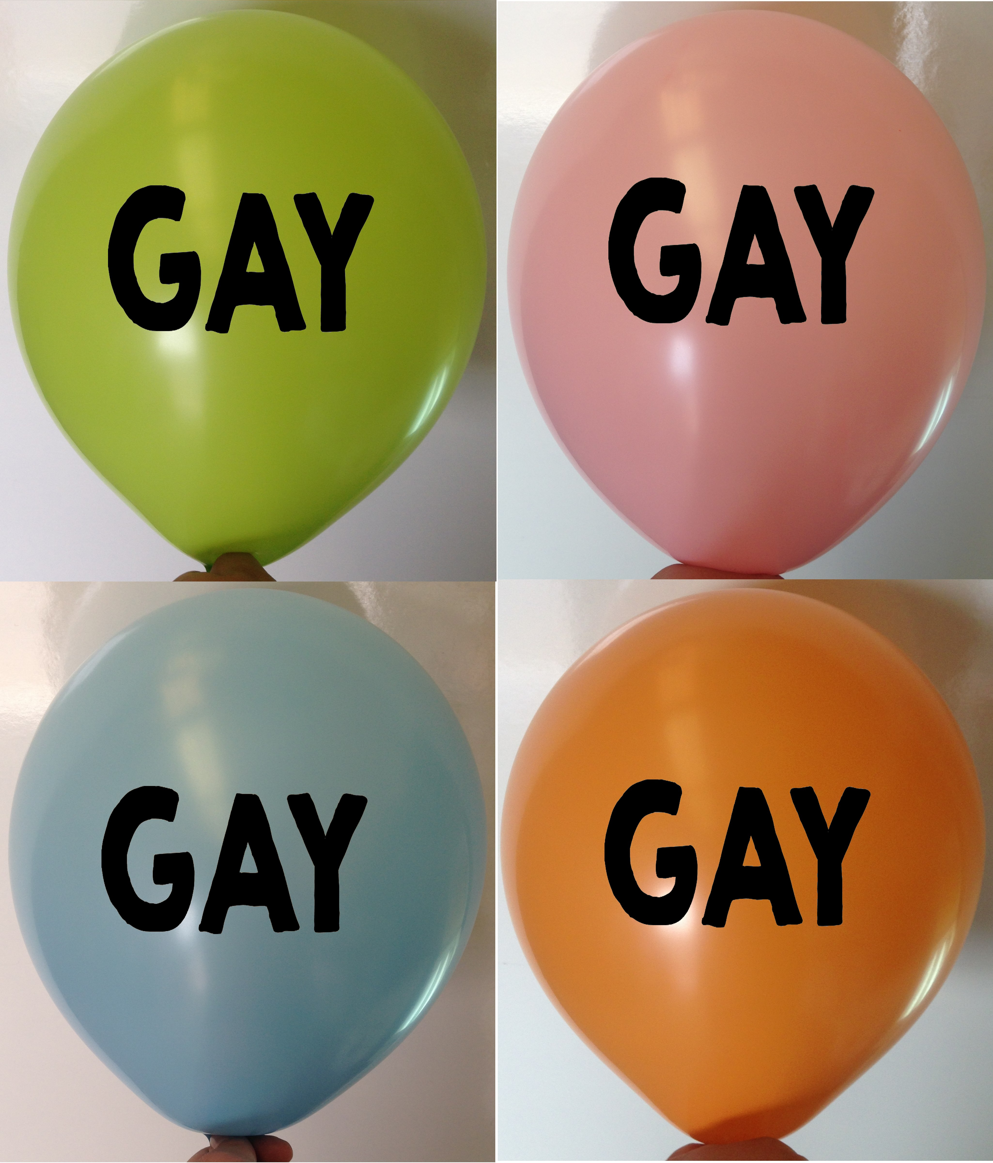 Rude Balloons GAY